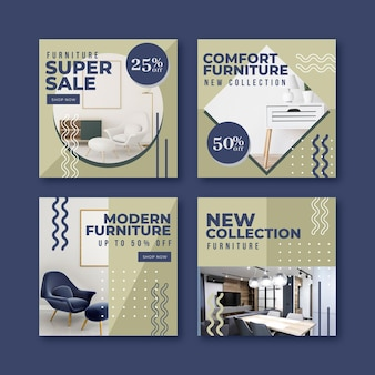 Vente de meubles ig post collection avec photo