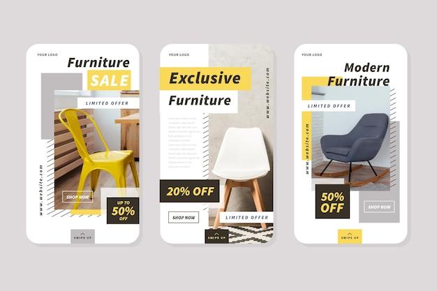 Vente de meubles ig stories collection avec photo