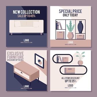 Vente de meubles instagram post collection