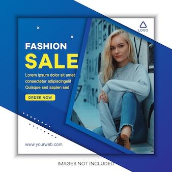 Vente de mode sur les médias sociaux