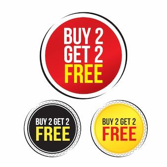 Vente, offre spéciale et design des étiquettes de prix