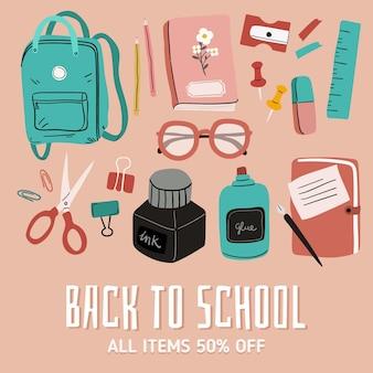Vente de retour à l'école