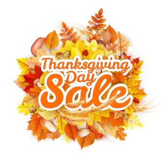 Vente de thanksgiving day.