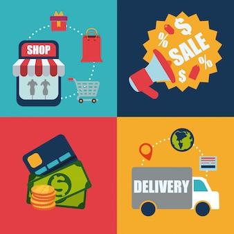 Vente et vente au détail