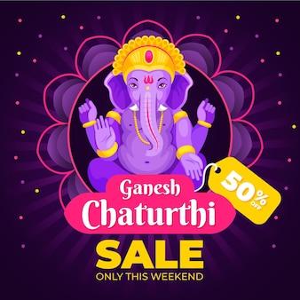 Ventes de ganesh chaturthi dessinés à la main