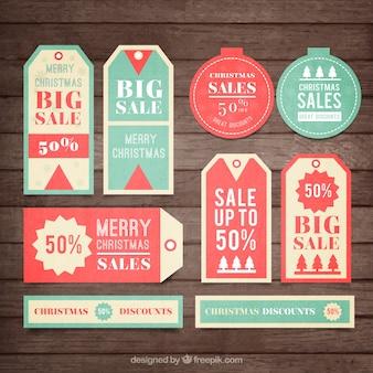 Les ventes de noël tags collection