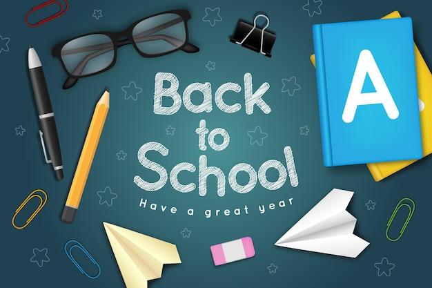 Ventes de rentrée scolaire réalistes