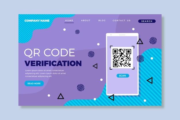Vérification du code qr