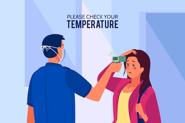 Vérification du concept de température corporelle