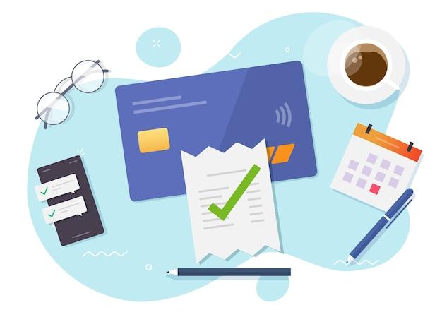 Vérification du paiement de la facture vérifiée, comptabilité financière fiscale terminée, évaluation de la fraude acceptée