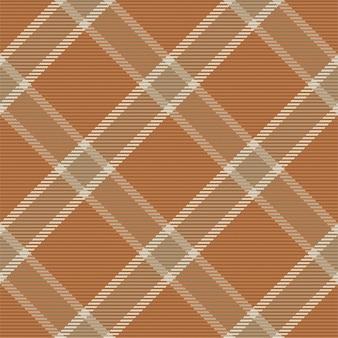 Vérifier La Texture De Tissu Sans Couture à Carreaux Vecteur Premium