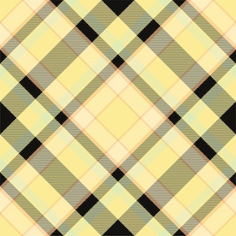 Vérifiez le motif à carreaux sans soudure. texture de tissu tartan. fond carré rayé. conception textile de vecteur.