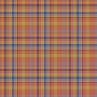 Vérifiez le motif sans couture à carreaux. fond d'ornement textile. conception de tissu plat. tartan.