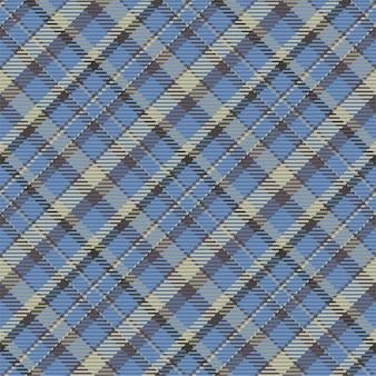 Vérifiez la texture du tissu sans couture à carreaux. textile imprimé en diagonale
