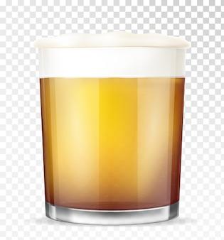 Verre à bière.