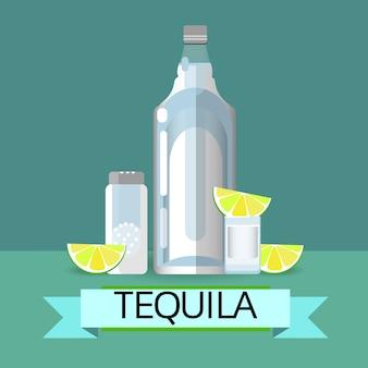 Verre à bouteille de tequila