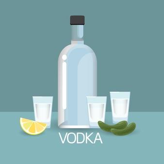 Verre à vodka