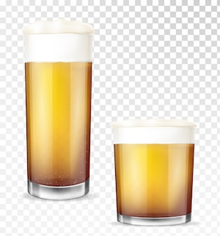 Verres à bière.