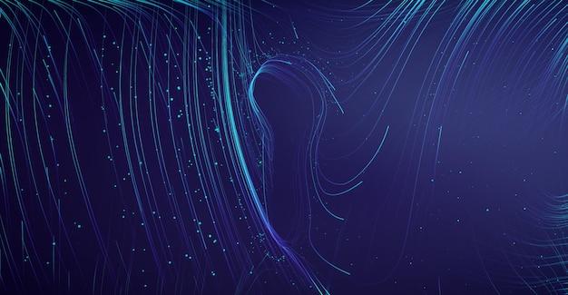 Verrou de protection de sécurité réseau. cybersécurité des technologies de l'information. protection des données de courrier électronique en nuage de travail d'équipe informatique. illustration vectorielle.