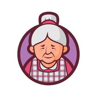 Version d'insigne de cuisine de grand-mère