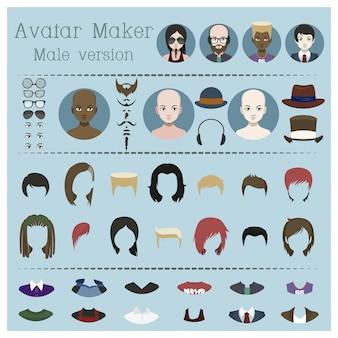 Version masculine avatar maker