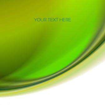 Vert onduleux abstrait