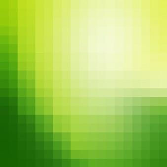 Vert pixel fond
