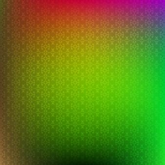 Vert et rouge abstrait