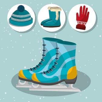 Vêtements et accessoires de mode d'hiver