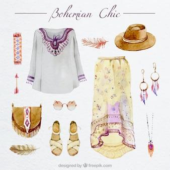 Vêtements bohème chic