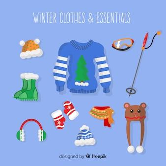 Vêtements d'hiver et essentiels