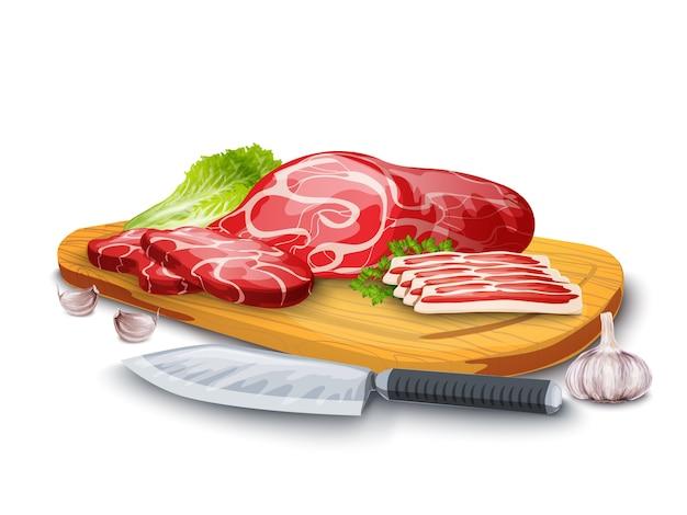 Viande à bord