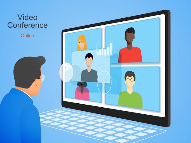 Vidéoconférence en ligne