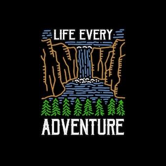 La vie chaque aventure