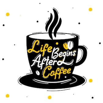 La vie commence après le café