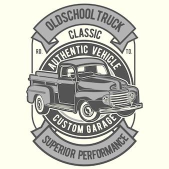 Vieux camion scolaire