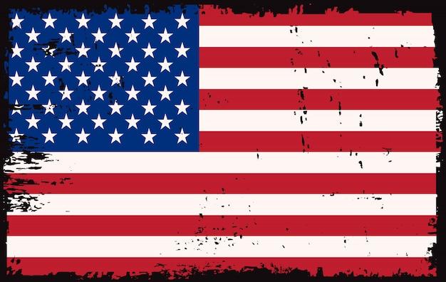 Vieux drapeau américain
