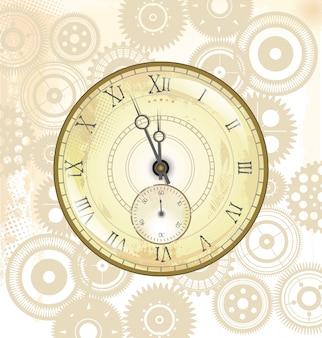 Vieux fond de montre