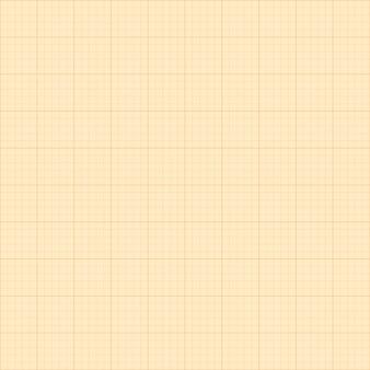 Vieux fond de grille carrée de papier millimétré sépia.