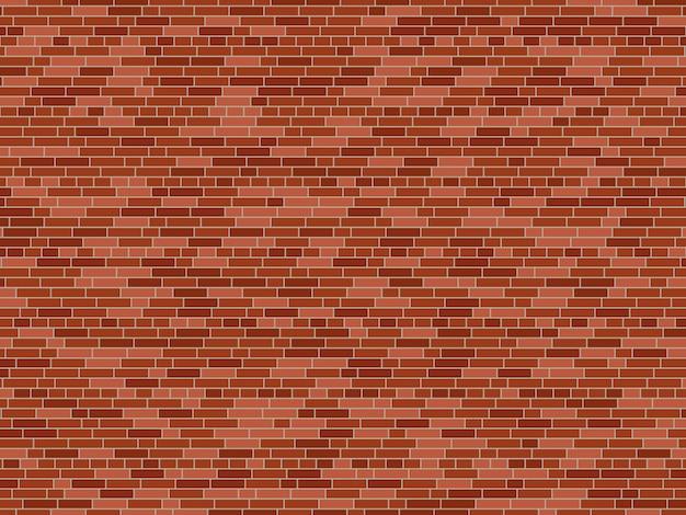 Vieux fond de mur de brique. texture de mur de brique de vecteur