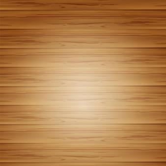 Vieux fond de texture en bois marron avec illustration vectorielle 3d vue de dessus
