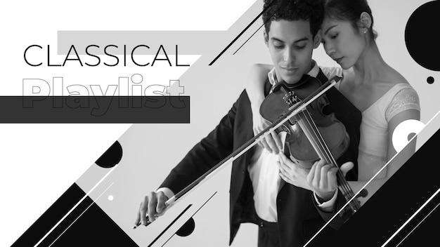 Vignette youtube de concert de violon