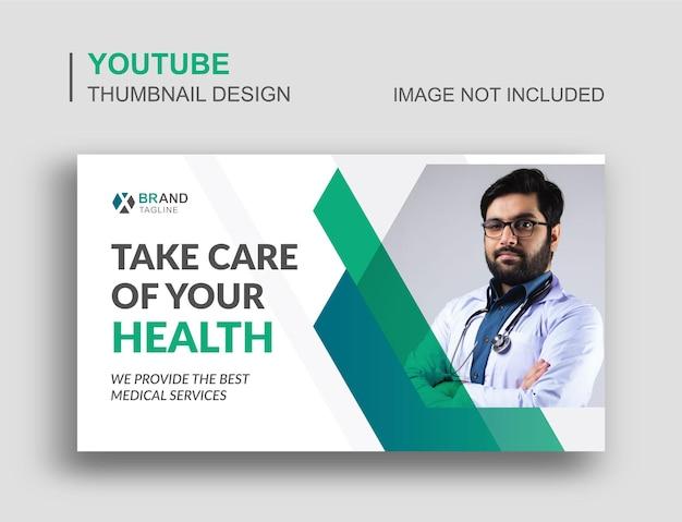Vignette youtube médicale et bannière web