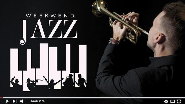 Vignette youtube de la musique jazz