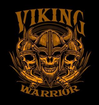 Viking couleur sépia