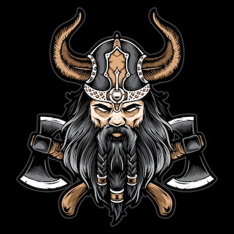 Viking avec hache