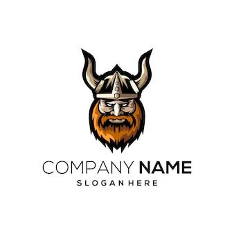 Viking logo pleine couleur