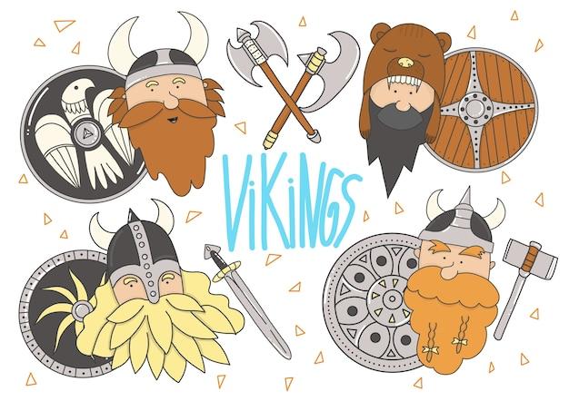 Vikings éléments séparés