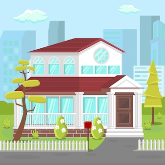 Villa, maison de banlieue