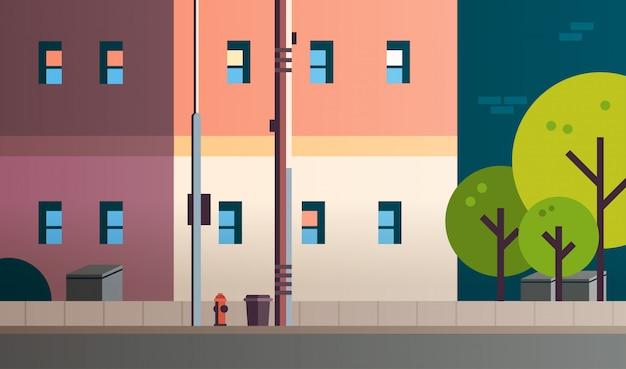 Ville construction maisons vue rue immobilier appartement
